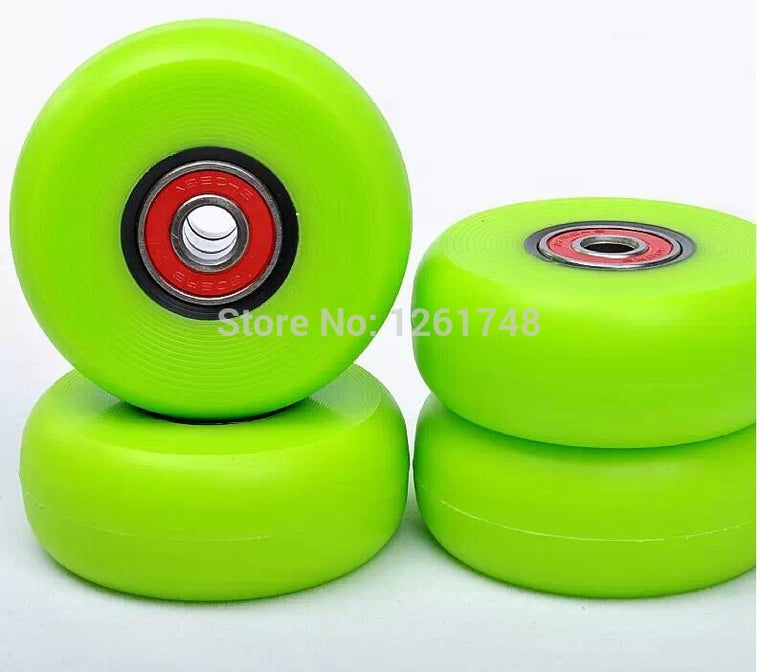 4 stunt street style skate wheels / brake drift wheels 58 * 24 mm 90A