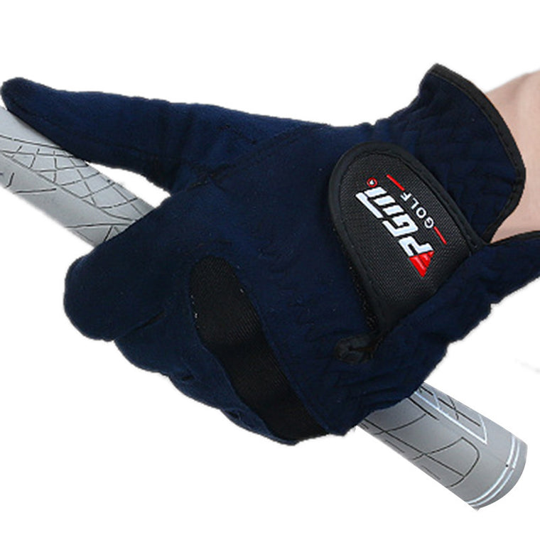Summer Mens Right Left Hand Golf Glove Soft Breathable Abrasion Gloves Outdoor New Sweat Absorbent Microfiber Cloth PGM Brand