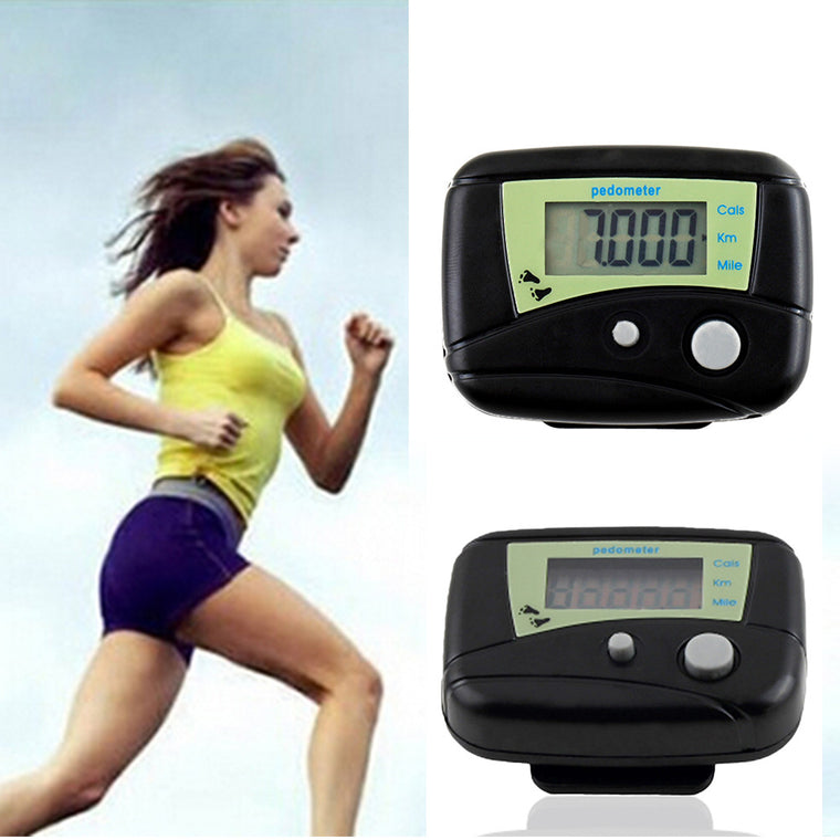 Hot Sale Mini Step Counter Portable Runing Walking Pedometer Distance Calorie Electronic Digital Pedometers