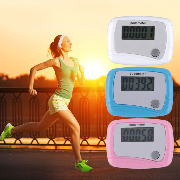 Portable Mini Digital LCD Running Step Pedometer Walking Distance Counter High Quality