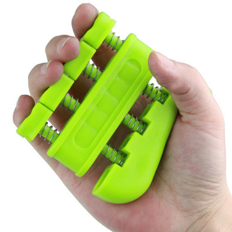 Two-way Extendable Hand Exerciser Finger Strengthener Trainer Home Workout Finger Strength Training Color Random