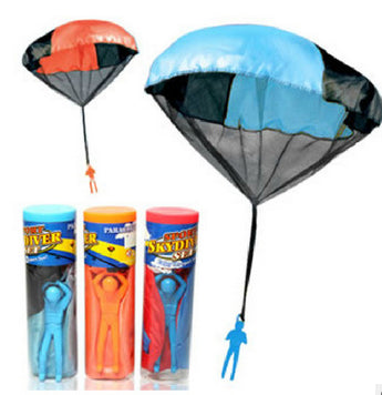 new kids Outdoor sports Hand Throwing mini play parachute children fitness toy equipment