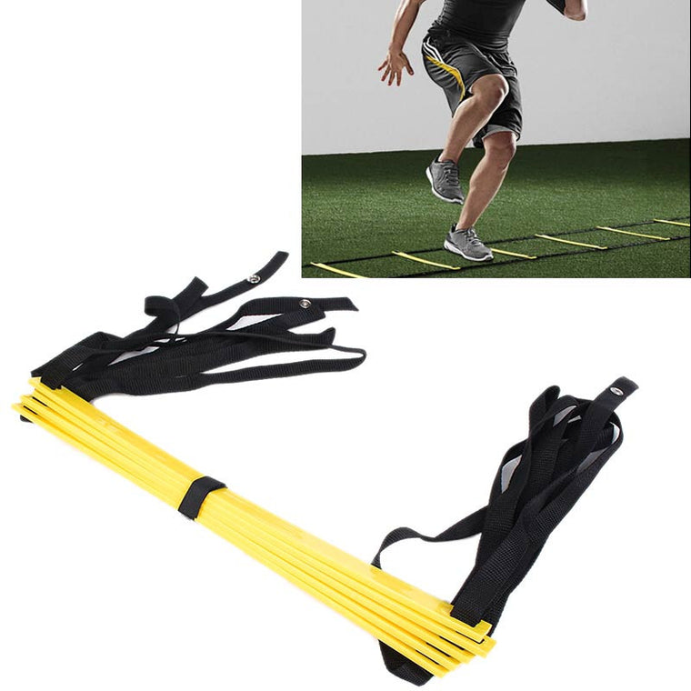 5 rung 10 Feet 3m Agility Ladder for Soccer Speed Training Football Fitness Feet Training Equipment
