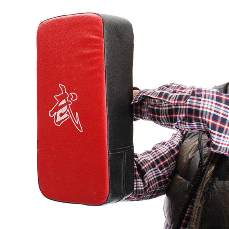 1pcs boxing pads PU Leather Taekwondo Arm Punc MMA Kicking Punching Pad TKD Training Gear Sanda /Fighting/ Muay Thai Foot Target