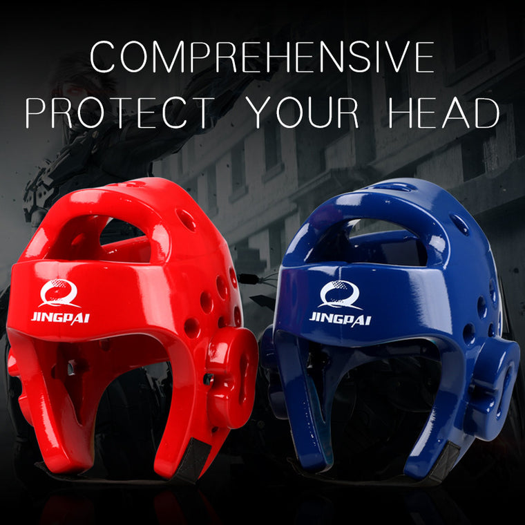 MMA Karate Muay Thai Kick Training Helmet Boxing Head Guard Protector TKD Headgear Sanda Taekwondo Protection Gear