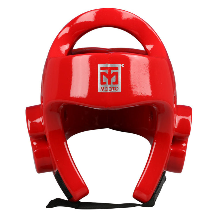 Mooto taekwondo Helmet MMA Karate Muay Thai Kick Training Helmet Boxing Head Guard Protector Headgear Sanda Protection Red/Blue
