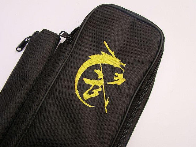 High - level embroidered Wu Jiandai knife sword bag with multi functional kung fu Martial Art sword bag
