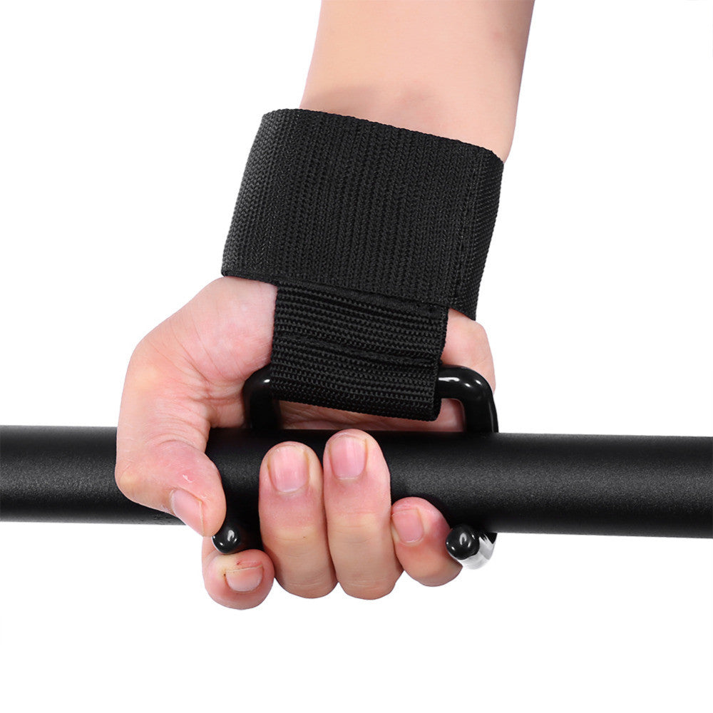 Weight Lifting gloves Hook Grip Wrist Support Power Clasps Straps Anti-skid Gym Fitness Wristbands WeightLifting hook gloves