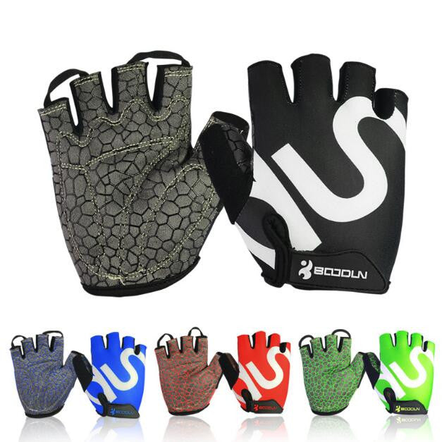 New Gym Fitness Gloves Men Weight Lifting Bodybuilding Gloves Workout Home Gym Weightlifting