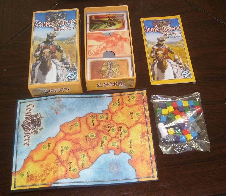 Condottiere Full Set Card Game Board Family Friends party Board Games toy GYH