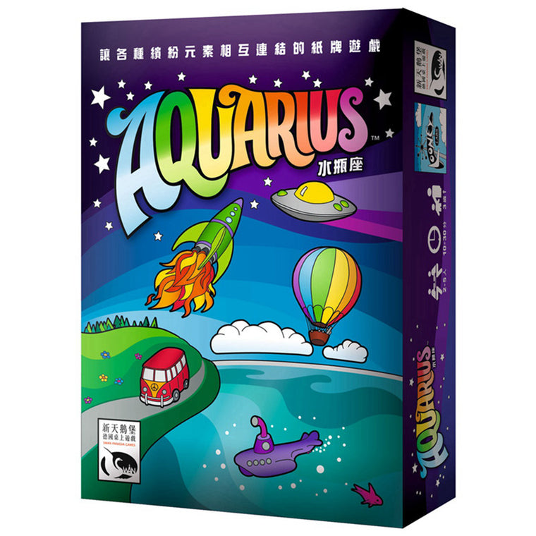 Aquarius Card Game Family Board Games Popular Strategy Party Funy Flowers Girls Indoor Board Games
