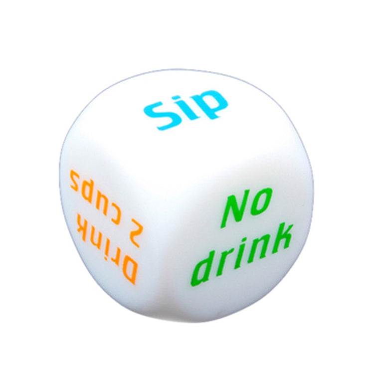 High Quality Drink Decider Wine Mora English Dices Adult Drinking Gambling Crap Dice Party Board Games Gambling Fun Toys Gift