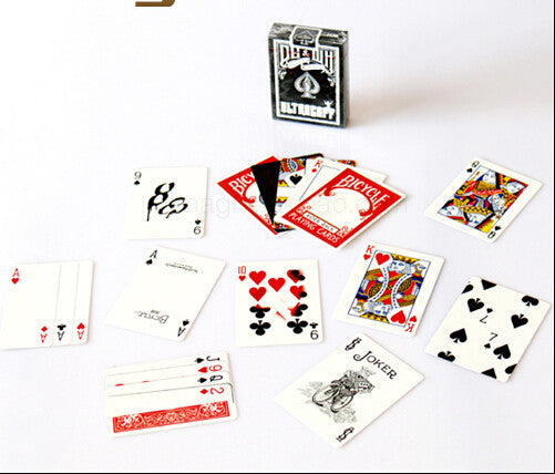 100% ORIGINAL Bicycle ULTRAGAFF Deck Playing Cards Best Poker New Bicycle Playing Card Magic Card Ellusionist