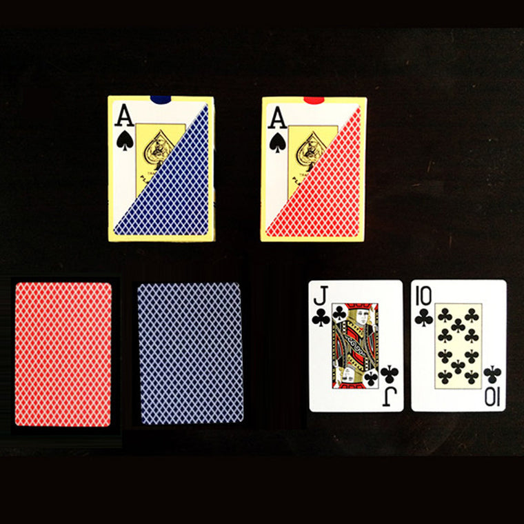 Texas Holdem Poker Cards 100% Plastic Scrub Poker High Quality Waterproof  Dull Polish Poker Star PVC Playing Cards Board Games