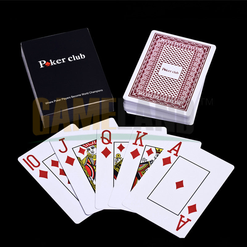 Plastic Poker Cards -  Plastic playing cards - Poker set - Pokerstars - High quality 8.8*6.3cm 250g