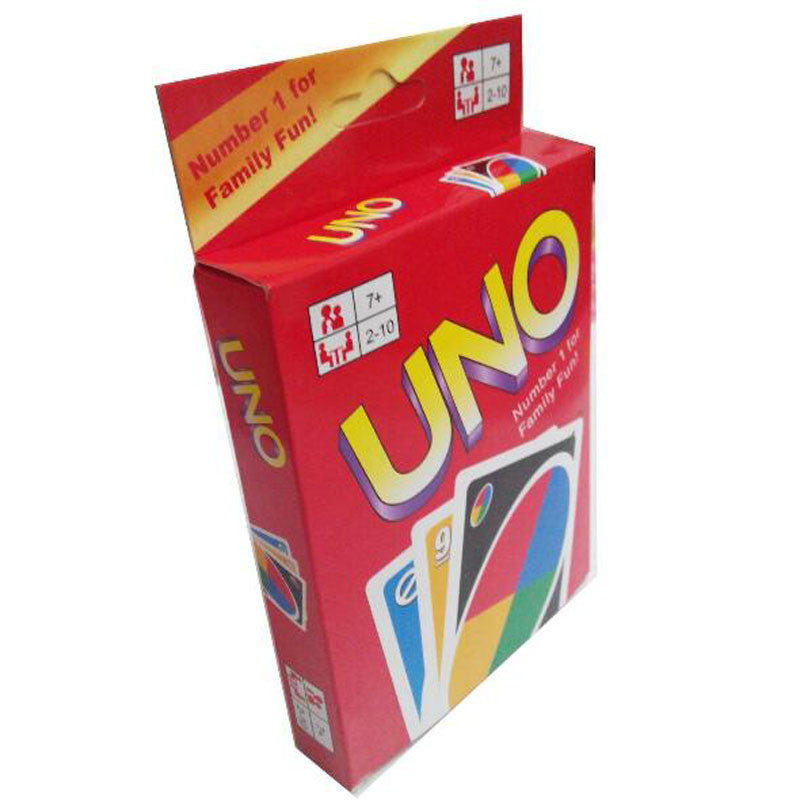 The classic desktop game paper UNO card game card poker Regular Edition