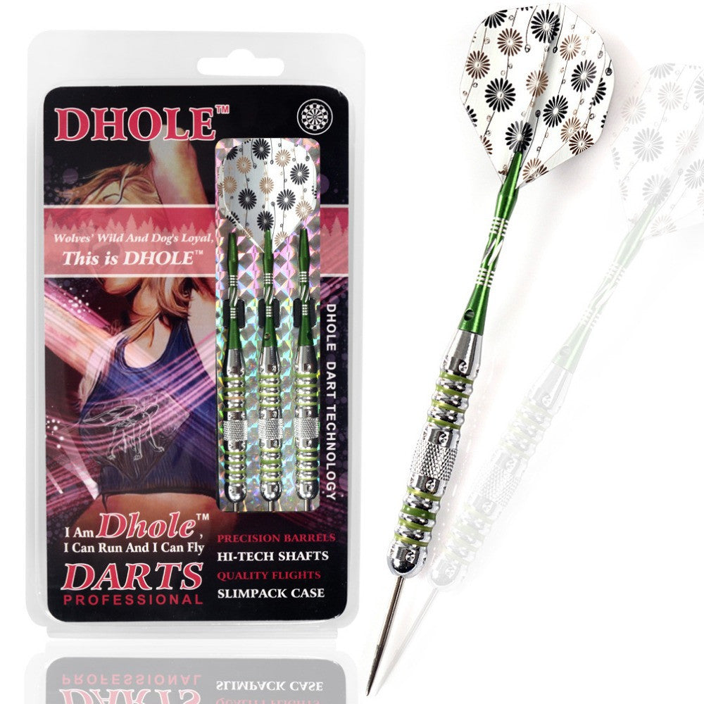 Green  Steel Tip Darts For Girls