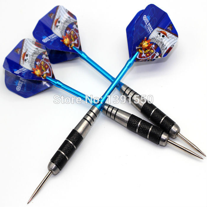 3pcs/1set Professional 22 grams Steel Tip Darts Iron Darts With Aluminum alloy Shaft Needle Darts High Quality