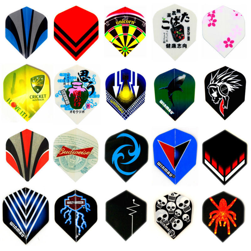 60pcs/lot of Dart Flights in 20 Kinds of Different Patterns Darts Dart Flight - Free shipping