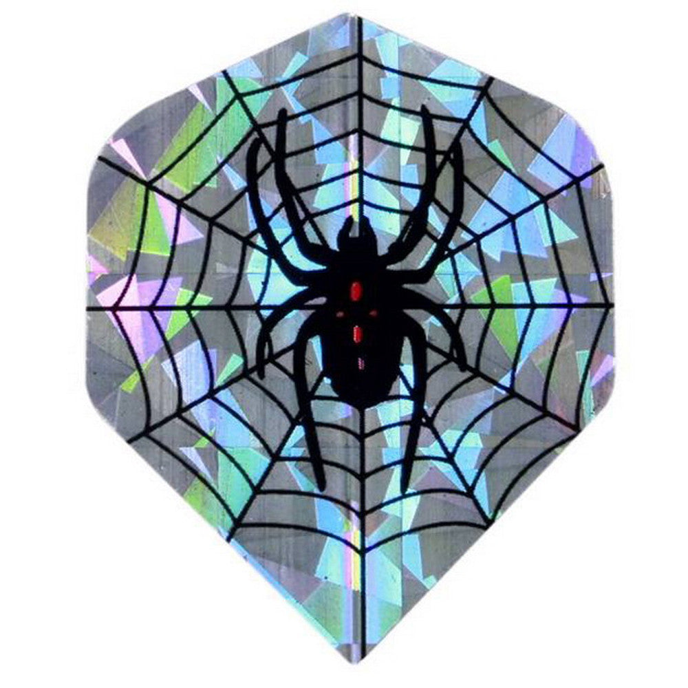 30 pcs (10 sets) of Dart Flights Reflective Spider Flight for Dart Set - Free shipping  C2