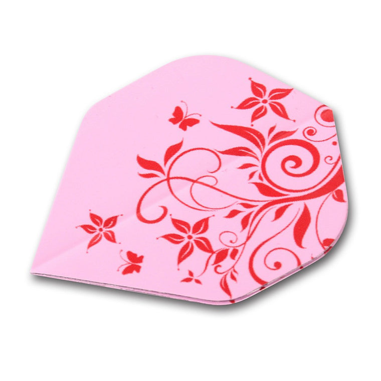 CUESOUL DHOLE Series 5 Set Design Pink Fllower Pink Dart Flights Wholesale For Steel Tip Darts and Soft Tip Darts