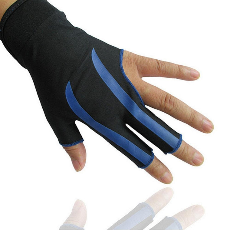 Three Finger Billiard Gloves 3-Finger Snooker Pool Shooters Left Hand Snooker cue Open High Quality Billiard NEW Accessories