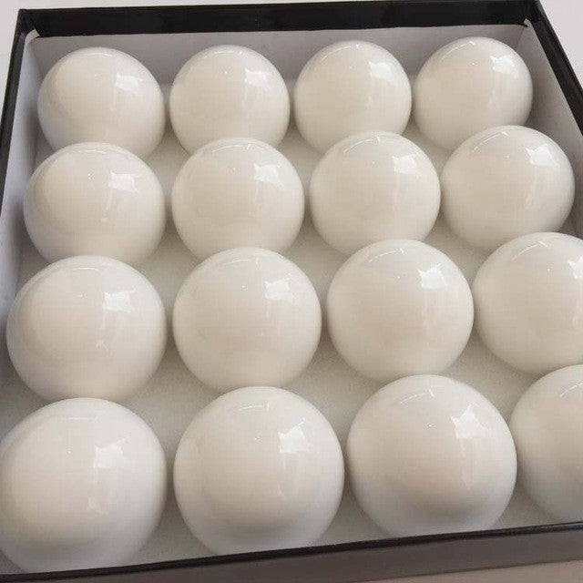 Single 1pc 57.25mm Resin Magnetic White Ball Coin Billiard Table 2 1/4 Super White Billiards Pool Magnetic Balls