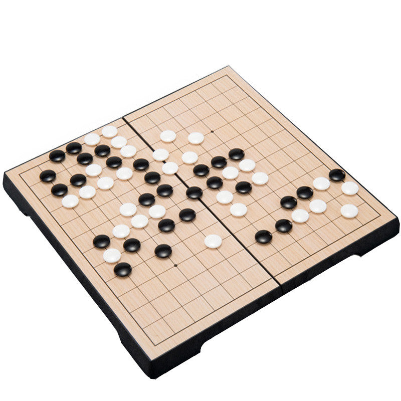 Game of go Set Magnetic Folding with Board 25x25cm Plastic 169 Pcs/Set go game chinese checkers reversi game