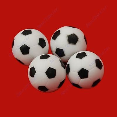 "B39 ""4pcs 36mm Soccer Table Foosball Ball Football Fussball"