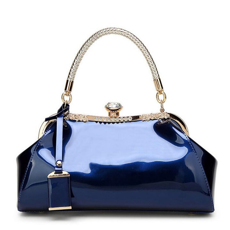Diamond Ornament Patent Leather Women bag Ladies Cross Body messenger Shoulder Bags Handbags Women Famous Brands bolsa feminina