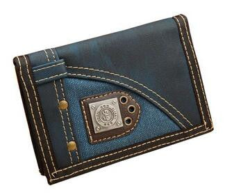 Casual WOMen Wallets Vintage Style  Canvas Coin Purse