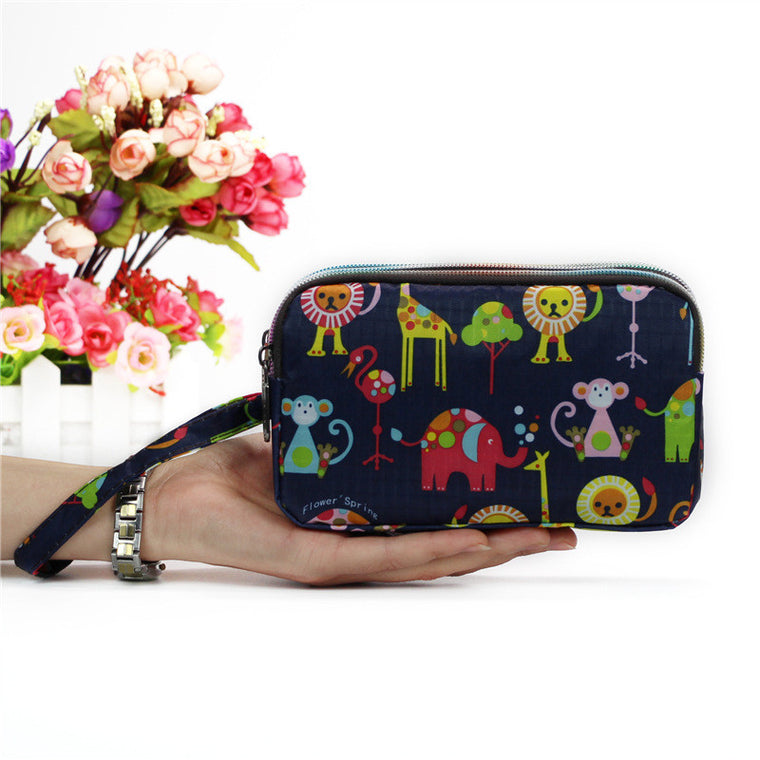 Five Nights At Freddy/'s Game Characters Hand Purse Zip Around Clutch Wallet