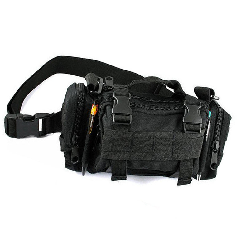 Camouflage Bag Military Waist Pack Canvas Camera Single Shoulder Messager Bag RD641456