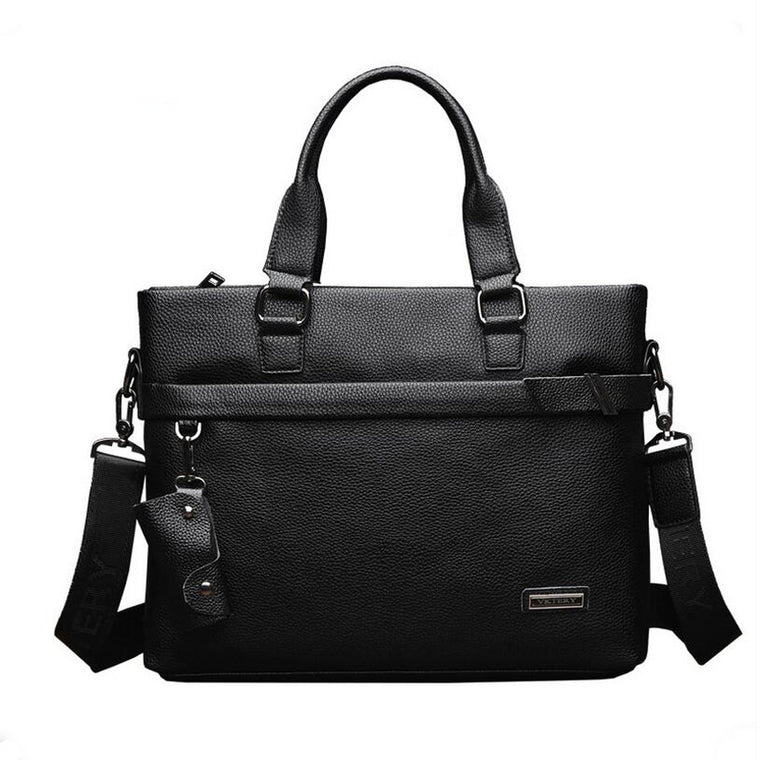 VKTERY brand men's luxury real cowhide businessman bag crime messenger bag briefcase leisure  family men selling package