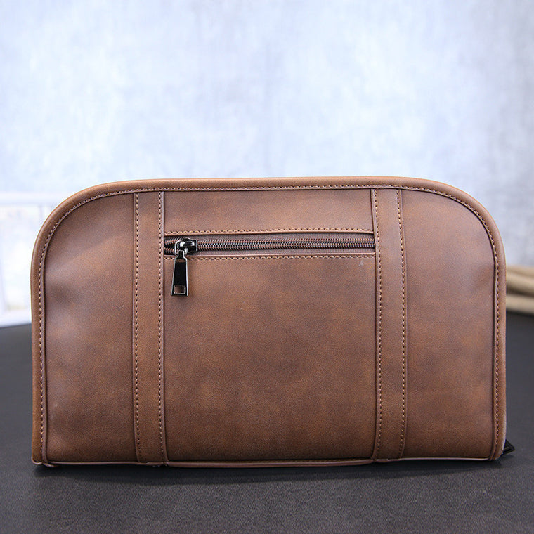 High quality men brown bag Crossbody messenger bag formal business briefcase handbag Laptop bag size 32X20 cm