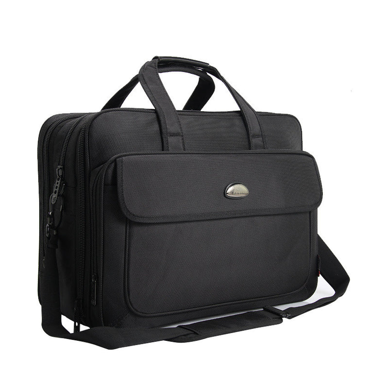 17 Inches Men's Briefcase Business Large Briefcases Laptop Computer Mens Office bags Shoulder bag handbags