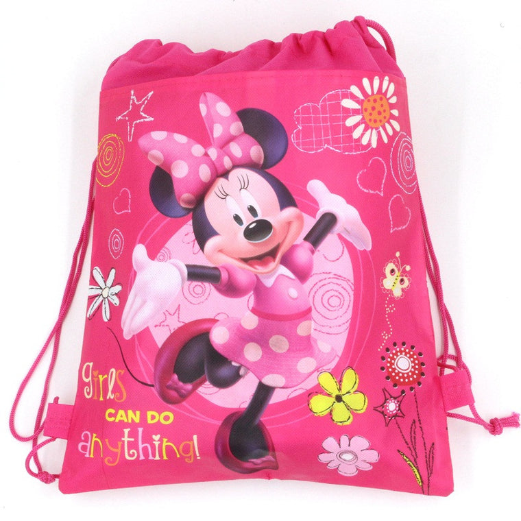 1 pic girl University school bags kids cartoon backpack drawstring bag & infantile For children bag back to school mochila