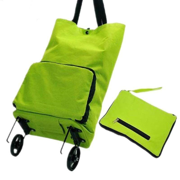 Women Fashion Trolley Bag Wheels Duffle Luggage Bag Folding Large Capacity Travel Bags Clothes Organizer Tug Bag