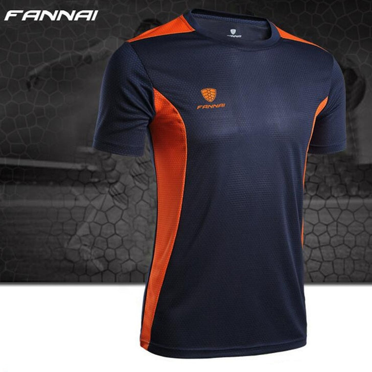 Summer new mens Tennis shirts Outdoor sports Quick-dry Jersey Run jogging badminton Short t-shirt tops tees Basketball clothes