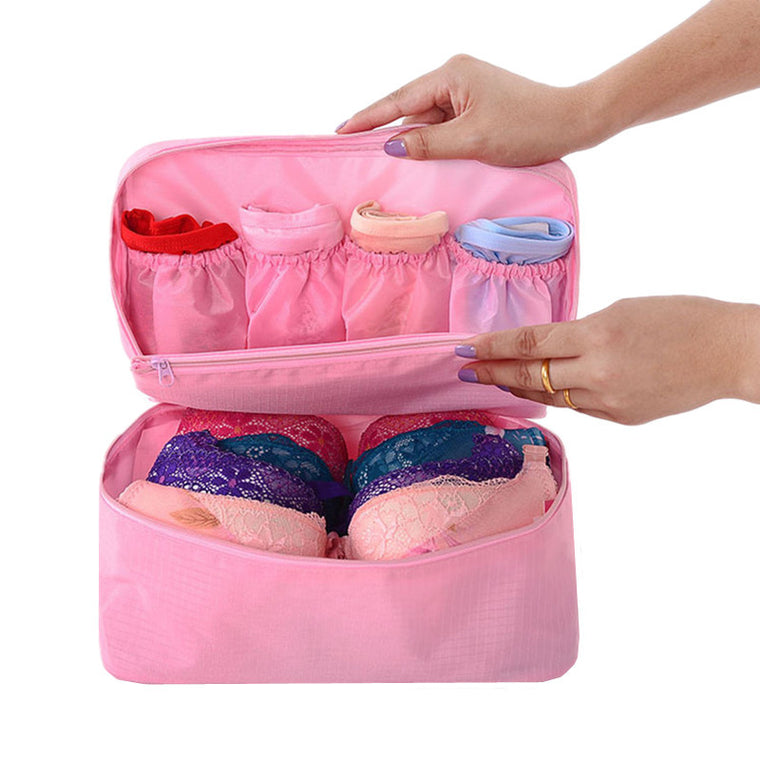 L Size Travel Accessories Bags For Bra Underwear Underpant Clothing Finishing Pouch Fashion Toiletry Cosmetic Storage Organizer