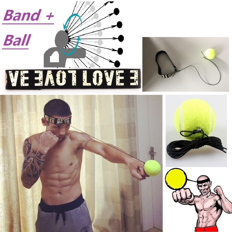 Boxing Equipment Fight ball Boxeo Training Accessories lomachenko Speed Ball Muay Thai Trainer Quick Response Ball Punching
