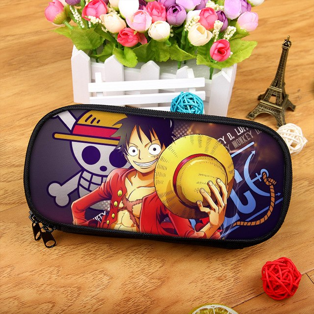 Dragon Ball Sun Wukong The Money King Boy Girl Cartoon Pencil Case Bag School Pouches Children Student Pen Bag Kids Purse Wallet