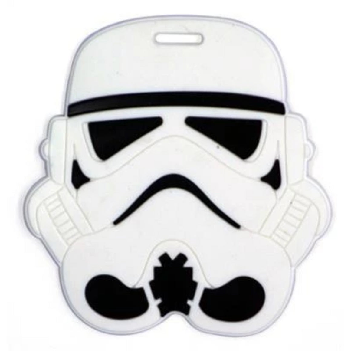 1PC Luggage Tags Travel Bags Accessories Classic Lovely Cartoon Film Stormtrooper & Black Knight Suitcase PVC Name