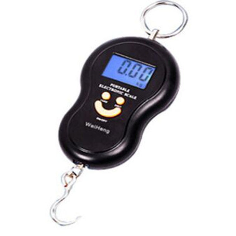 Portable 40kg Electronic Scale Hanging Fishing Luggage Digital Pocket Weight Hook Scale Worldwide Store