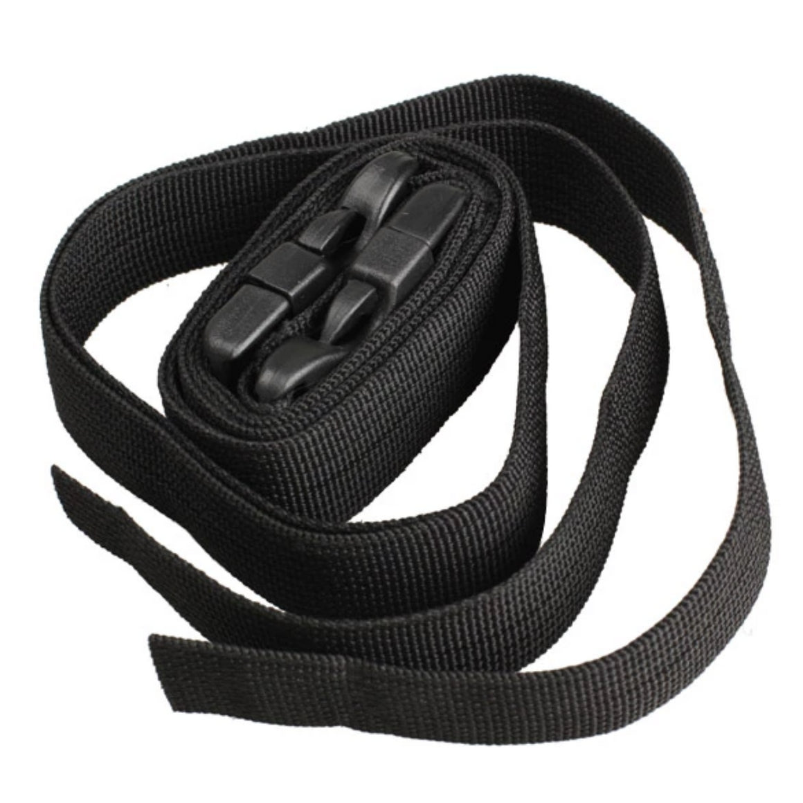 2Pcs Black Adjustable Nylon Travel  Luggage  Bind Band Strap Bag Accessories LXX9
