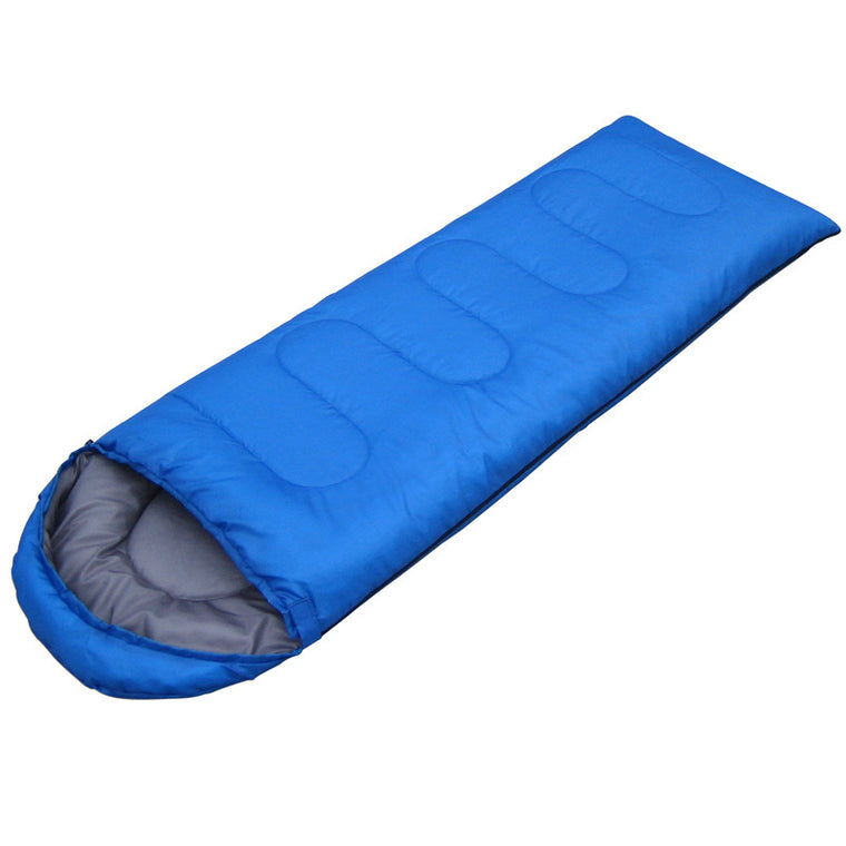 950KG (190+30)*75cm Outdoor 4 seasons waterproof Camping Ultra-light Portable Aadult Mummy Type Hollow cotton Sleeping Bag