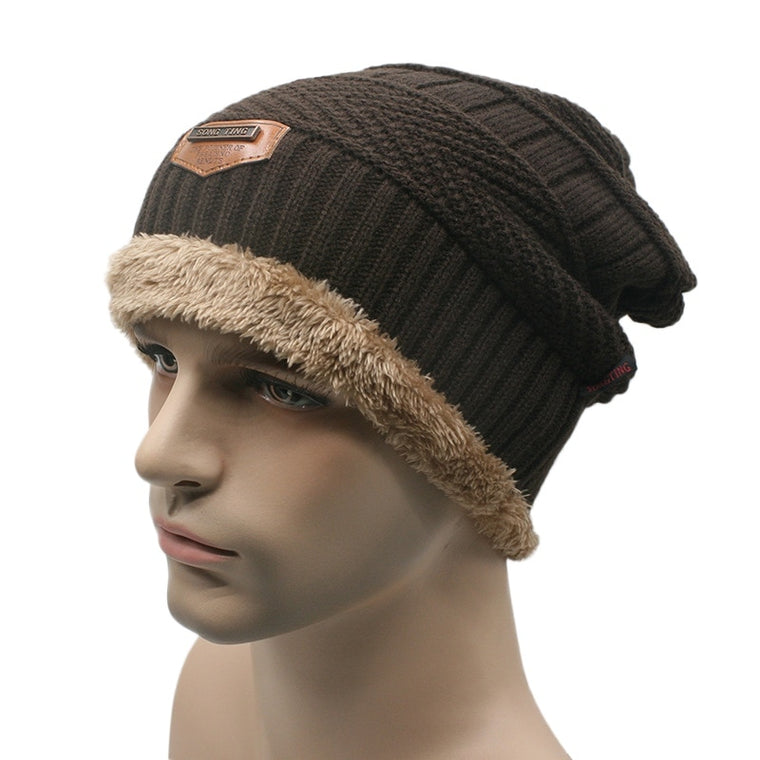 Men Women Unisex Autumn Soft Hats Outdoor Sport Hiking Knit Ski Cap Hat Winter Warm Wool Caps