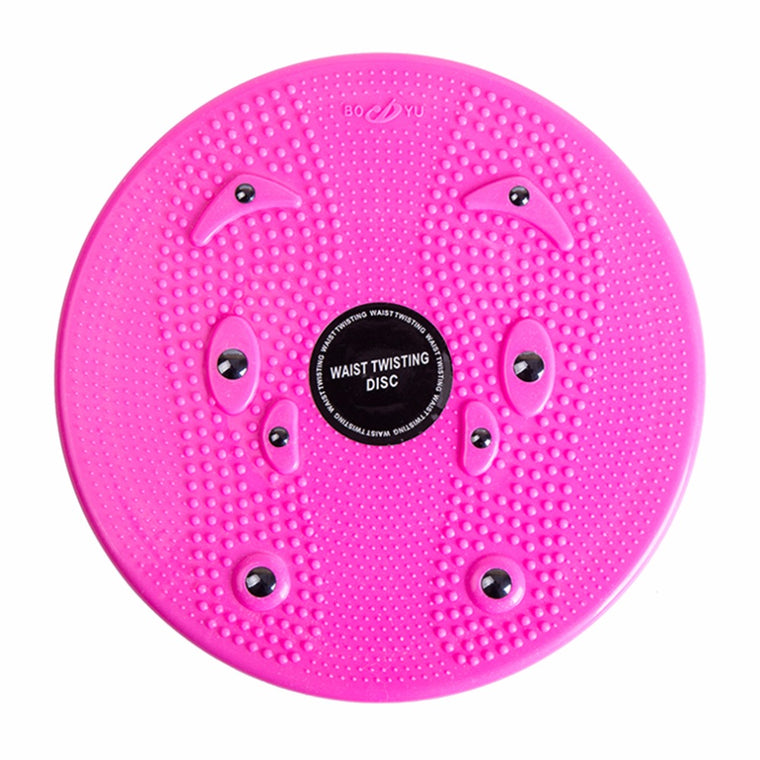 Practical Twist Waist Torsion Disc Board Magnet Aerobic Foot Exercise Yoga Training Health Twist Waist Board Free Shipping New