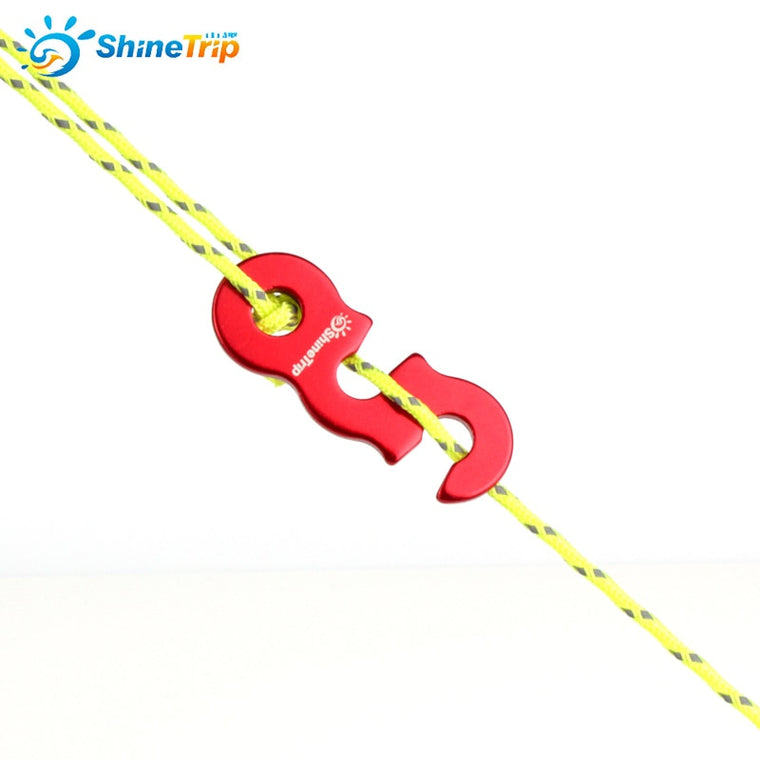 10pcs Tent Wind Rope Buckle Outdoor Camping Wind Rope Stopper Awning Wigwam Adjust Buckles Small