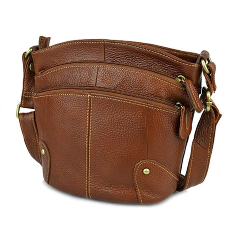 100% Cowhide Women Crossbody Bag Genuine Leather Small Messenger Bags Ladies Shoudler Bags AR01